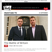 Don't miss: The Battle of Britain at 9:00pm on BBC One London