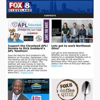 FOX 8 VIP Newsletter