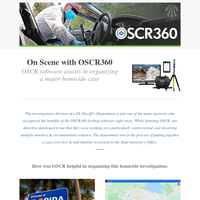 On Scene with OSCR: Software use in Homicide Investigation