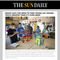 Group says the need to feed young Las Vegans 'much greater than it's ever been'