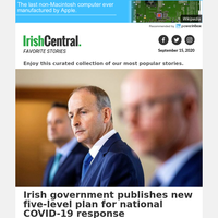 Irish government publishes new five-level plan for national COVID-19 response