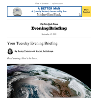 Your Tuesday Evening Briefing