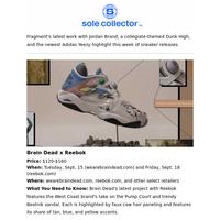 Release Roundup: Fragment x Air Jordan 3, Brain Dead x Reebok, and More