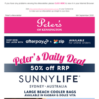 From $8 SunnyLife Essentials for Beach, Pool & Picnic - 50% off RRP