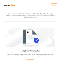 2020 Global Imports Report | Amazon PPC Strategies | Jungle Scout Changelog