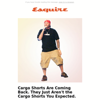 We Never Thought We'd Say This, But...Let's Talk About Cargo Shorts