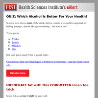 QUIZ: Which Alcohol Is Better For Your Health?