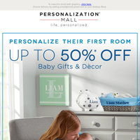 Nursery Design Tips | 50% Off Baby Gifts & Décor
