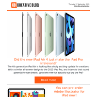 Did the new iPad Air 4 just make the iPad Pro irrelevant?