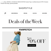 11 Must-Shop Deals of the Week — Up to 70% Off