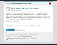 [New post] Beauty Blogger Yaz and MUA Spotlight