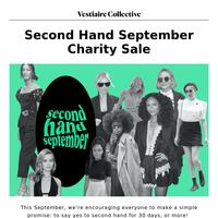 Vente de charité Second Hand September