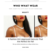6 fashion girl–approved haircuts that are perfect for fall