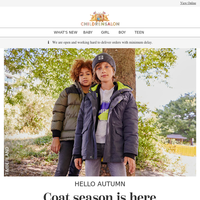 Coat season has arrived 🍁