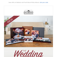 Announcing Picaboo's New Wedding Collection!