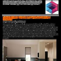 Unifying Home Interiors With Horizontal Colour Blocking: Interior Design Ideas