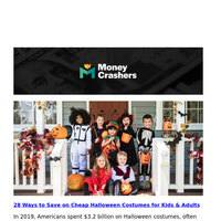 Save on Cheap Halloween Costumes -- Best Online Dollar Stores -- Is the Stock Market's October Effect Real?