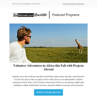 Trying to find the best travel abroad program? Take a look at our top options!