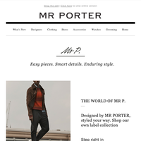 The Mr P. pieces our Style Director recommends to see you through the season
