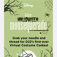 ENTER NOW: D23's Halloween Mousequerade