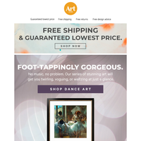 💃💃Learn some sweet dance moves from your walls. Free shipping. Free returns. Free creative advice.💃💃