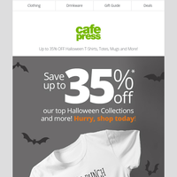 Halloween SALE: Save up to 35% OFF Halloween gifts & more!