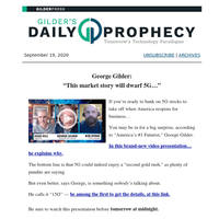 The Top Prophecy of the Week