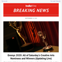 Emmys 2020: All of Saturday's Creative Arts Nominees and Winners (Updating Live)