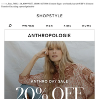 20% Off Fall Dresses, Shoes (+more)