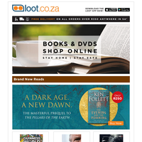New Books & DVDs - Ken Follett, Scoob, Guinness 2021, Shaft, Bob Woodward, Weber Braaiing, Anton Harber + WIN with Halloween Reads!