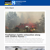 Firefighters battle exhaustion along with wildfire flames (21 September 2020, for {EMAIL})