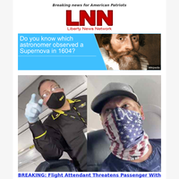 BREAKING: Flight Attendant Threatens Passenger With Arrest Over Patriotic Mask (VIDEO)