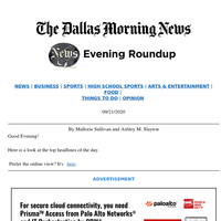 RBG's impact on Texans, how Texas calculates COVID-19 positivity rate, Dallas-Houston bullet train: Your Monday evening roundup