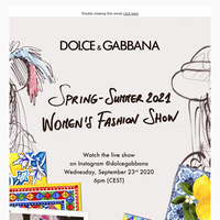 Save the date for the Women's SS21 Fashion Show