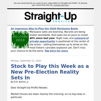 Stock to Play this Week as a New Pre-Election Reality Sets In