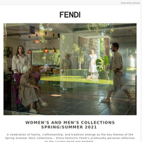 Save the date: Women's and Men's Spring Summer 2021 fashion show