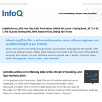1500 Microservices, Azure + Spring Boot, .NET 5.0 RC 1, iOS 14, Load Testing APIs