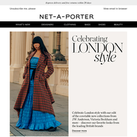 London calling: discover our style roundup from the fashion capital