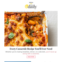 Every Casserole Recipe You'll Ever Need, Costco's Legendary Wine Advent Calendar Is Back & More from Kitchn