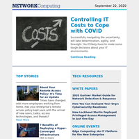 Controlling IT Costs to Cope with COVID