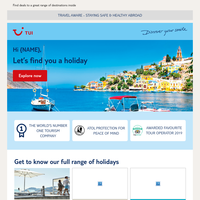 {NAME}, holidays on your mind?