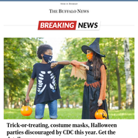 Trick-or-treating, costume masks, Halloween parties discouraged by CDC this year. Get the details.