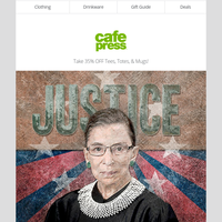 Remembering RBG | Halloween Gifts & More! | 35% OFF BIG Fall Sale!