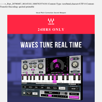 24 HRS ONLY ⚡️ $29.99 for Waves Tune Real-Time