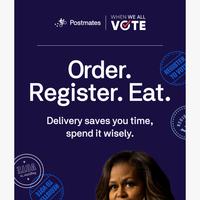 Join Michelle Obama, Register to Vote