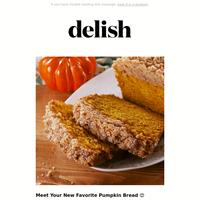 Byyye, summer—helloooo, Crumbly Pumpkin Bread 👋