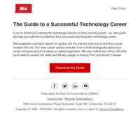Build the foundations for a long-term technology career