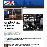 Live video: Ohio Gov. Mike DeWine holds news conference on coronavirus