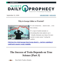 The Success of Tesla Depends on True Science [Part 3]