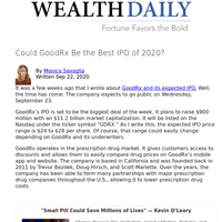 Could GoodRx Be the Best IPO of 2020?